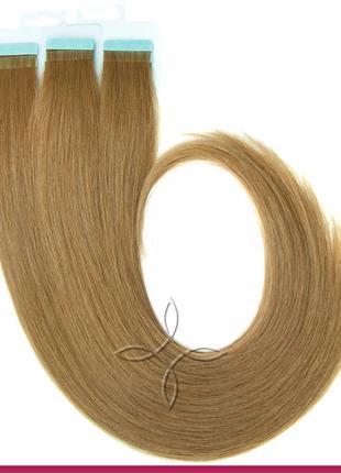 Волосы для Наращивания на Лентах 50 см 100 грамм, Русый №5В