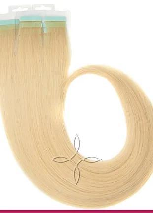 Волосы для Наращивания на Лентах 50 см 100 грамм Светло-Русый №16