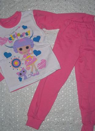 Пижама на девочку начес 92р 104р