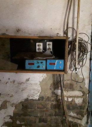 Стаціонарна сушка деревини та електрообладнання.