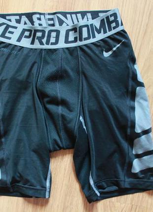 Суперские термо компрессионные шорты для спорта nike pro combat