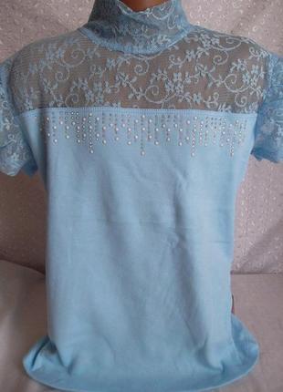 Американка-блузка на девочку 116р
