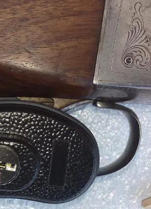 Оружейный замок на спусковые крючки с 2 ключами