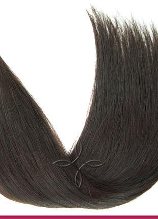 Волосы для Наращивания в Срезе 50 см 100 грамм, Шоколад №02