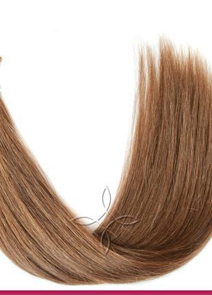 Волосы для Наращивания в Срезе 50 см 100 грамм, Шоколад №05