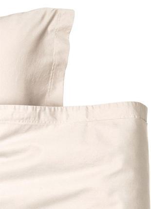 Односпальный комплект постельного белья премиум хлопок сатин h...