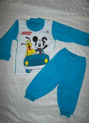 Пижама на мальчика интерлок 1год
