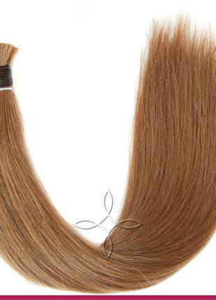 Волосы для Наращивания в Срезе 50 см 100 грамм, Русый №7А