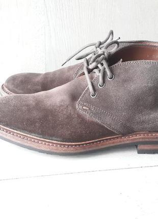 Hugo boss мужские замшевые ботинки