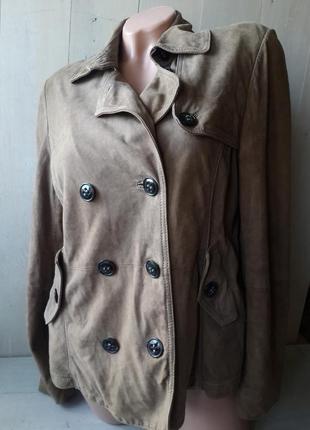 Marc o polo замшевая куртка/пиджак свободного кроя