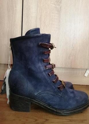 Airstep as98 nathaniel кожаные ботинки