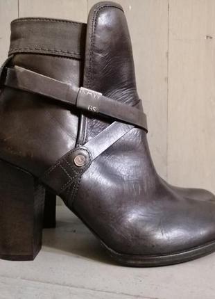 G-star raw кожаные ботинки ботильоны