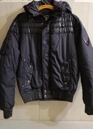 Airforce мужская зимняя куртка, пуховик, бомбер