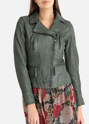 Oakwood кожаная куртка, косуха xs, s