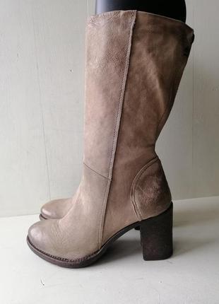 Airstep демисезоные кожаные сапоги