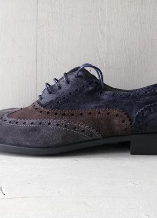 Pertini замшевые туфли, оксфорды, броги