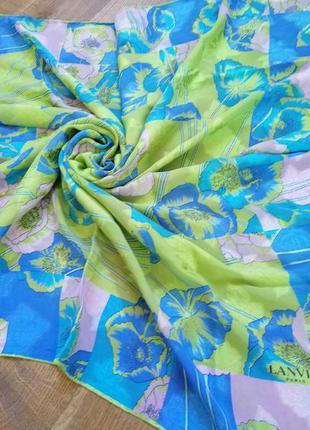 Lanvin шёлковый платок