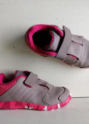Adidas ortholite кожаные кроссовки для девочки 16 см