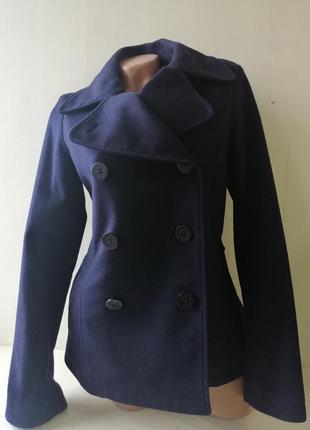 Woolrich шерстяное пальто р-р м