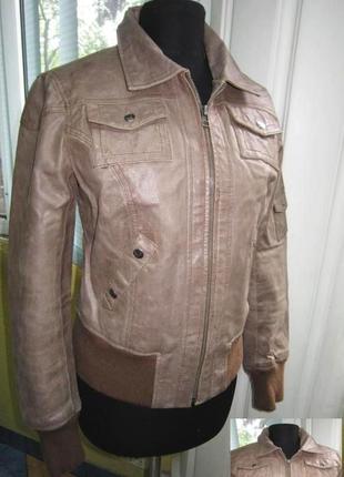 Оригинальная женская кожаная куртка  los angeles. сша. лот 203