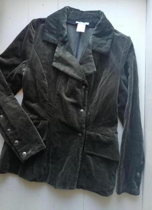 Sarah pacini бархатный пиджак, жакет