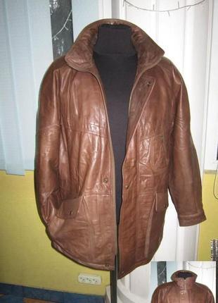 Оригинальная утеплённая мужская куртка echtes leder. 100% кожа...