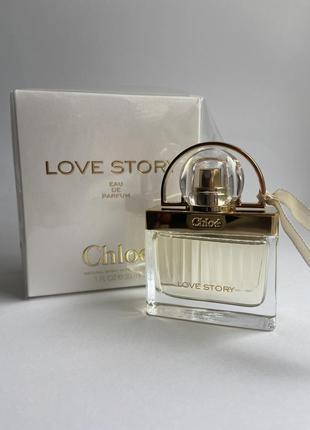 Парфумована вода chloe love story 30 мл