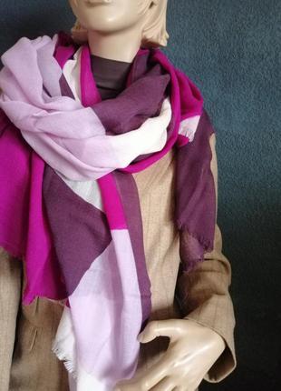 Massimo dutti. очень большой шерстяной шарф, палантин