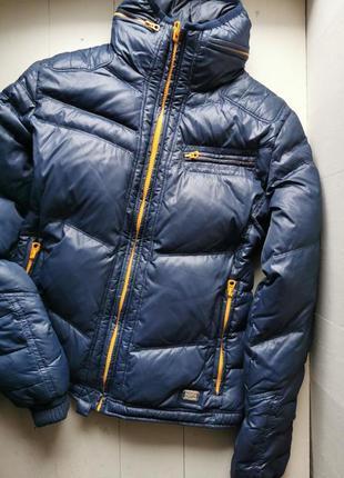 Diesel мужская пуховая куртка. пуховик, зимняя еуртка