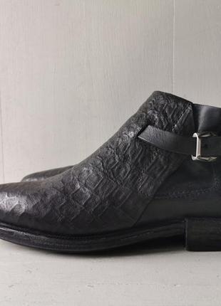 Airstep as98 стильные, кожаные ботинки