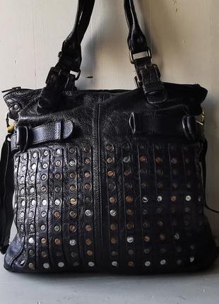 Wunschstuck большая, кожаная сумка