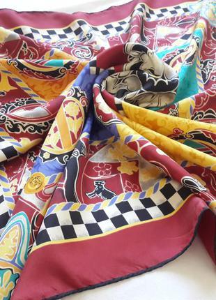 Шелковый платок givenchy,италия