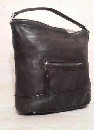 Longchamp большая кожаная сумка