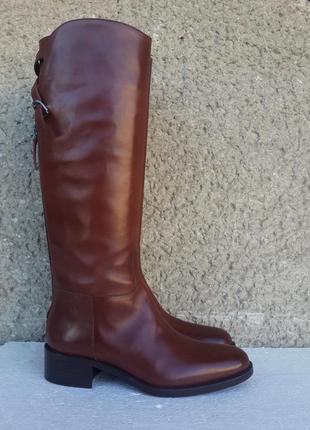 Sartore кожаные сапоги, италия 37,5