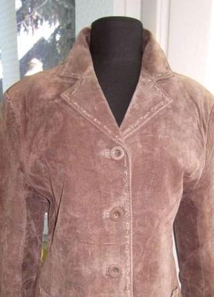 Стильная женская кожаная куртка casual woman tex. лот 260