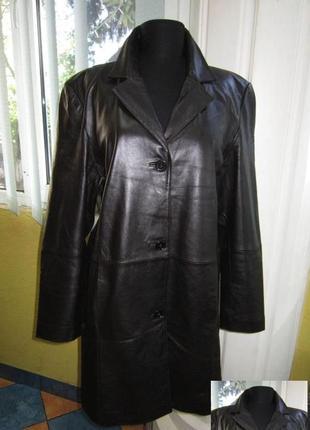Стильная женская кожаная куртка — плащ  tcm. германия. лот 261