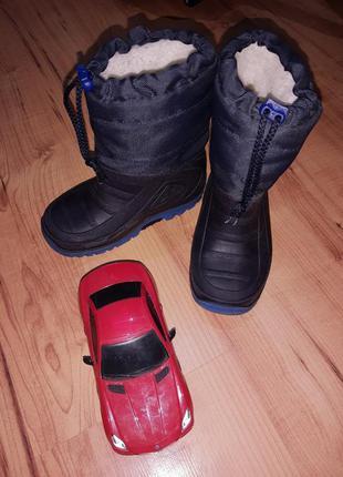 Зимние сапоги ботинки сноубутсы детские