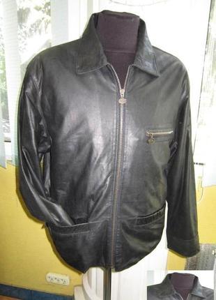 Оригинальная мужская куртка chevro. 100% кожа. лот 222