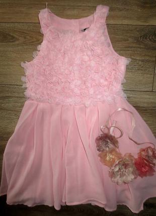Красивенное платье на малышку