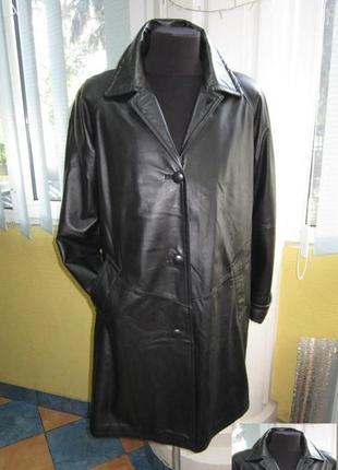 Большая женская кожаная куртка collection. германия. лот 229