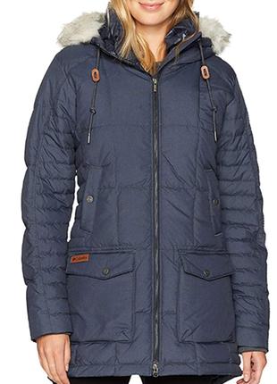 Зимняя куртка- парка columbia с технологией omni-heat