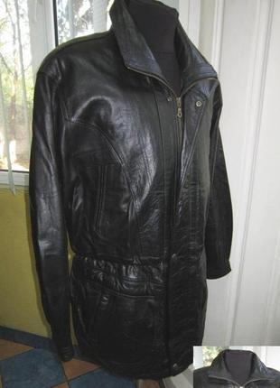 Большая  оригинальная кожаная мужская куртка stanford. сша. ло...