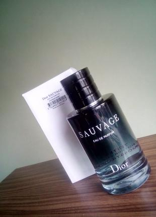 Тестер парфюм Christian Dior Sauvage 100мл.