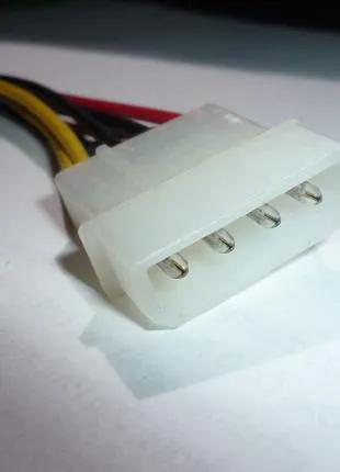 удлиннитель molex + 4 pin.