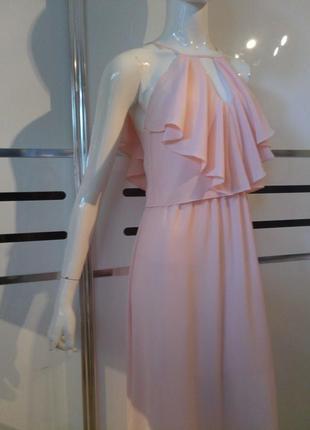 Длинное платье на выпускной 8