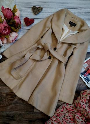 Крутое весеннее пальто тедди размер 6-8 (xs-s)
