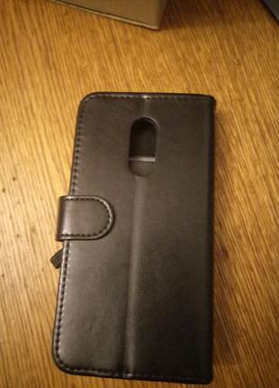 Чехол книжка- кошелек,на Redml Note 4