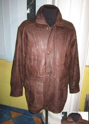 Утеплённая кожаная мужская куртка c.a.n.d.a., c&a. лот 332