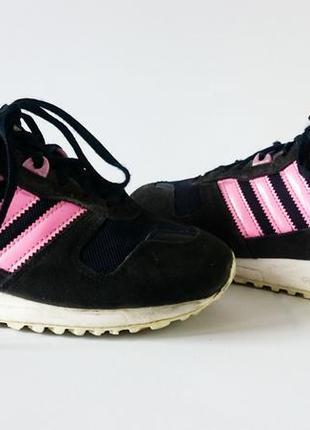 Кроссовки adidas zx 700 w. оригинал. натуральная замша