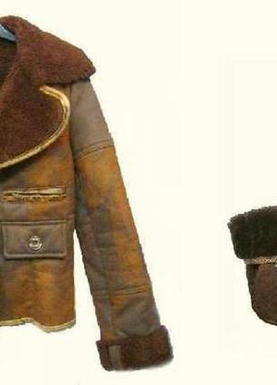 Крутая тёплая женская дублёнка morgan+сумка в подарок. франция...